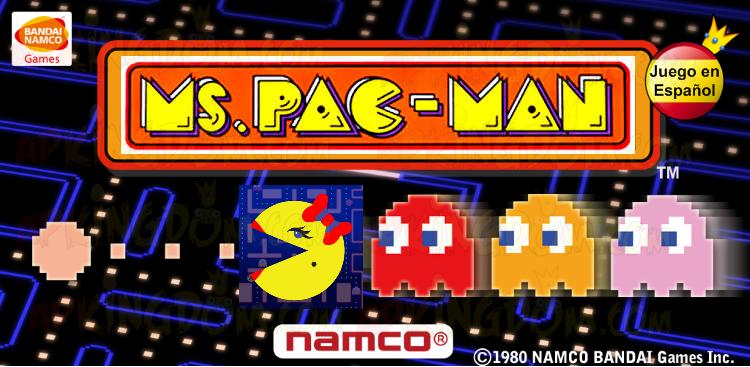Portada 1 Descargar Ms. PAC-MAN by Namco v2.0.3 .apk 2.0.3 APK Comecocos Come cocos Pacman Pac Man Android Apkingdom Tablet Móvil Download Zippyshare Mediafire