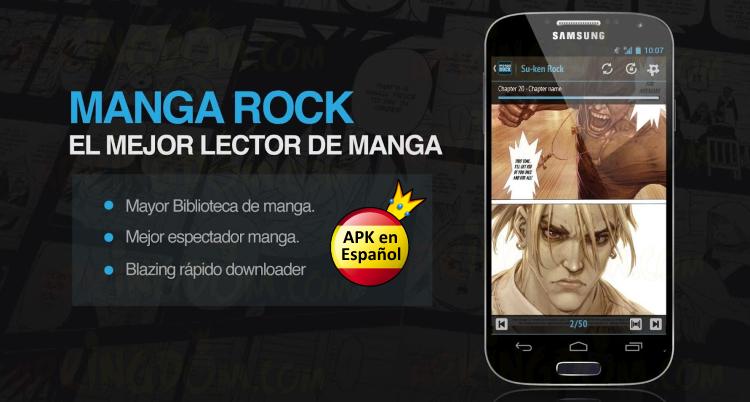 Portada ok Descargar Manga Rock - Best Manga Reader Full v1.9.2 .apk 1.9.2 APK Android Tablet Móvil Apkingdom Download Naruto Gantz One Piece